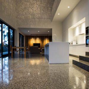 restore concrete, terrazzo, marble floors